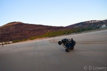 Quad bike at the beach